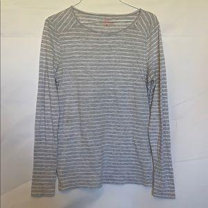 Women's grey knit vineyard vine top sz xs